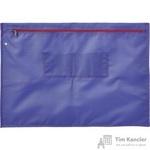 Папка на молнии Attache Confidence с отверстием для опломбирования А3+ фиолетовая 1.2 мм
