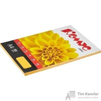 Бумага цветная для офисной техники Комус Color мандарин интенсив (А4, 80 г/кв.м, 100 листов)