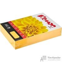 Бумага цветная для офисной техники Комус Color мандарин интенсив (А4, 80 г/кв.м, 500 листов)