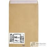 Пакет почтовый Multipack E4 из крафт-бумаги стрип 300x400 мм (100 г/кв.м, 50 штук в упаковке)