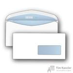 Конверт почтовый DirectPost C65 (114x229 мм) белый с клеем автомат правое окно (1000 штук в упаковке)