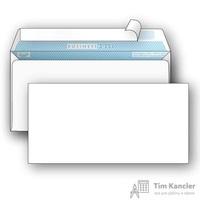 Конверт почтовый BusinessPost E65 (110x220 мм) белый удаляемая лента (1000 штук в упаковке)