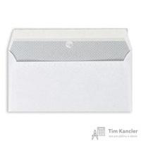 Конверт почтовый Garantpost E65 (110x220 мм) белый удаляемая лента (1000 штук в упаковке)