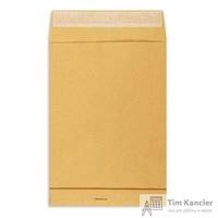 Пакет почтовый Extrapack B4 из крафт-бумаги стрип 250х353 мм (120 г/кв.м, 250 штук в упаковке)