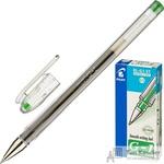 Ручка гелевая Pilot BL-G1-5T зеленая (толщина линии 0.3 мм)