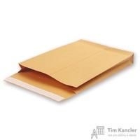 Пакет почтовый Gusset С4 из крафт-бумаги стрип 229х324 (130 г/кв.м, 200 штук в упаковке)
