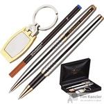 Набор письменных принадлежностей Verdie Ve-53 (шариковая ручка, роллер, брелок)