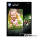 Фотобумага для цветной струйной печати HP Everyday Photo Q2510A (глянцевая, A4, 200 г/кв.м, 100 листов)