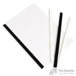 Скрепкошина для брошюровки Bantex А4 черная (до 50 листов)