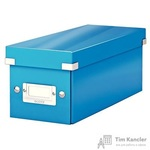 Короб Leitz Click Store синий (14.3x13.6x35.2 см)