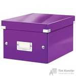 Короб Leitz Click Store А5 фиолетовый