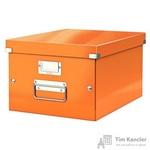 Короб Leitz Click Store А4 оранжевый