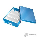 Короб-органайзер Leitz Click Store А4 синий