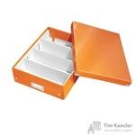 Короб-органайзер Leitz Click Store А4 оранжевый