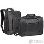 Сумка-рюкзак для ноутбука RivaCase 8290 16 из полиэстера черного цвета