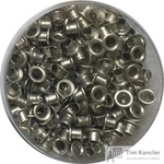 Люверсы для дырокола Attache 250 штук в упаковке диаметр 4,8 мм серебристые