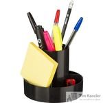 Набор настольный Attache Economy Оптима пластиковый 10 предметов черный
