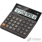 Калькулятор настольный Casio DH-12-BK-S-EH 12-разрядный черный