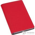 Визитница настольная Attache Selection фактурный PU на 96 визиток красная