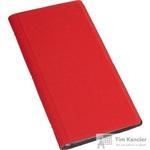 Визитница настольная Attache Selection фактурный PU на 128 визиток красная