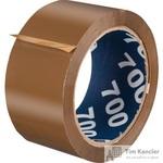 Клейкая лента упаковочная Unibob коричневая 50 мм x 66 м толщина 47 мкм (морозостойкая)