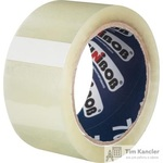 Клейкая лента упаковочная Unibob прозрачная 50 мм x 66 м толщина 47 мкм (морозостойкая)