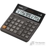 Калькулятор настольный Casio DH-16 16-разрядный коричневый