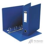 Папка на 4-х кольцах Bantex картонная/пластиковая 60 мм синяя