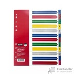 Разделитель листов Attache Selection А4+ пластиковый 12 листов (цифровой)