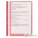 Папка-скоросшиватель Attache А4 с перфорацией красная 10 штук в упаковке (толщина обложки 0.11 мм и 0.15 мм)