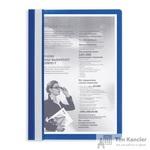 Папка-скоросшиватель Attache A4 синяя 10 штук в упаковке (толщина обложки 0.13 мм и 0.15 мм)