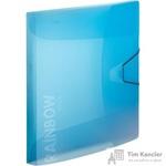 Папка на резинках Attache А4 пластиковая голубая (0.45 мм, до 200 листов)