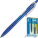 Ручка шариковая масляная автоматическая Pilot BPRG-10R-F Rex Grip синяя (толщина линии 0.32 мм)