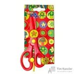 Ножницы детские №1 School Волшебный лес (13.5 см, пластиковые лезвия и фиксатор)