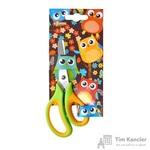 Ножницы детские №1 School Веселые совята (13.5 см, пластиковые ручки с резиновыми вставками)