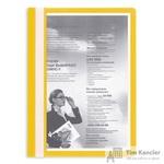 Папка-скоросшиватель Attache A4 желтая 10 штук в упаковке (толщина обложки 0.13 мм и 0.15 мм)