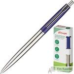 Ручка шариковая автоматическая Комус синяя (толщина линии 0.5 мм)