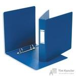 Папка на 2-х кольцах Bantex картонная/пластиковая 35 мм синяя