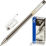 Ручка гелевая Pilot BL-G1-5T черная (толщина линии 0.3 мм)