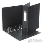 Папка на 4-х кольцах Bantex картонная/пластиковая 60 мм черная