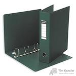 Папка на 4-х кольцах Bantex картонная/пластиковая 60 мм зеленая