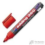 Маркер для досок Edding e-360/2 красный (толщина линии 1.5-3 мм)
