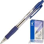Ручка шариковая масляная автоматическая Pilot BPGP-10R-F синяя (толщина линии 0.32 мм)