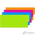 Разделитель листов Attache Selection пластиковый 12 листов разноцветный(105x240 мм)