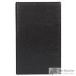 Визитница настольная пластиковая на 30 визиток черная (с телефонной книгой)