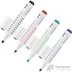 Набор маркеров для досок Faber-Castell Grip 158304 4 цвета (толщина линии 2.5 мм)