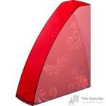 Вертикальный накопитель Комус Русская серия пластиковый красный ширина 85 мм