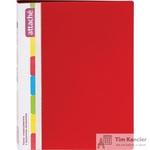 Папка-скоросшиватель с пружинным механизмом Attache А4 красная 0.7 мм