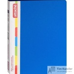 Папка-скоросшиватель с пружинным механизмом Attache А4 синяя 0.7 мм