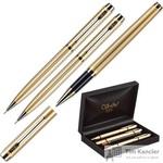 Подарочный набор Verdie VE-29 в пластиковом футляре (шариковая ручка, роллер, автоматический карандаш)